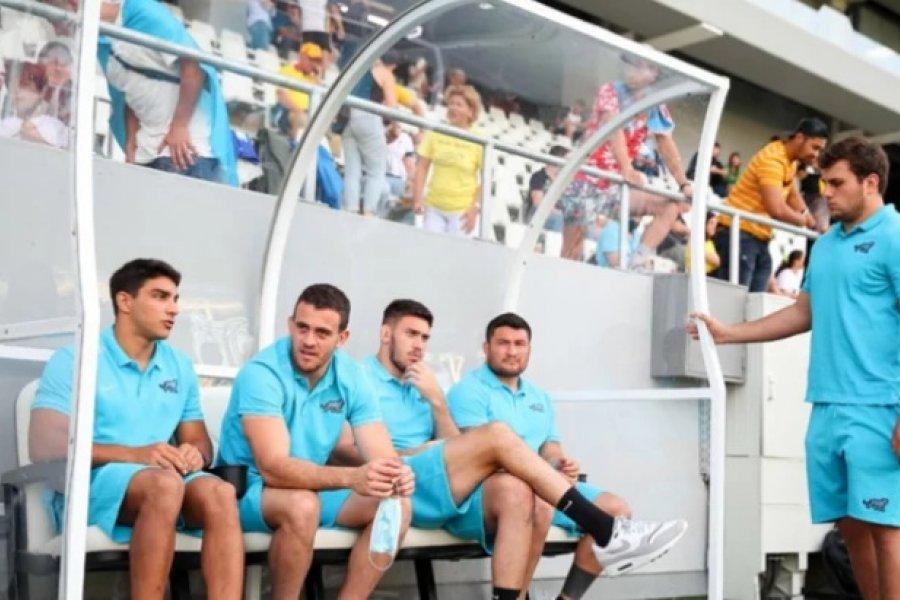 Los Pumas se alistan para el cotejo ante Gales