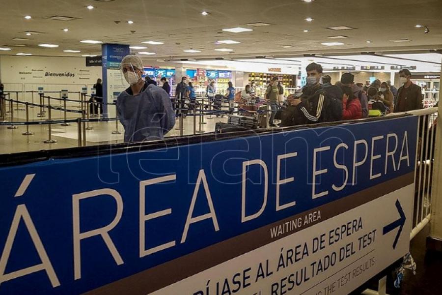 Se mantendrá el cupo de 600 pasajeros que podrán ingresar por día al país