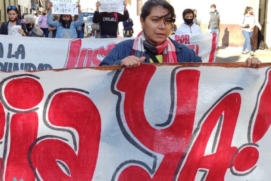 Excarcelación a Piattoni: Familiares de las víctimas marcharon por Justicia