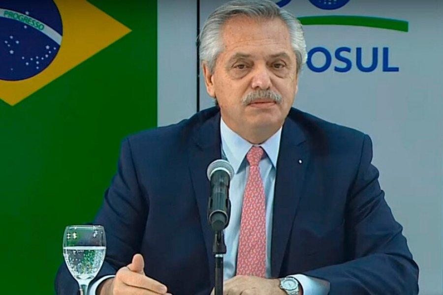 La respuesta de Alberto Fernández a Uruguay: Consenso es respetar la ley del Mercosur