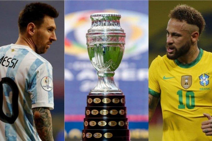 Brasil- Argentina:  la final de la Copa América tendrá público