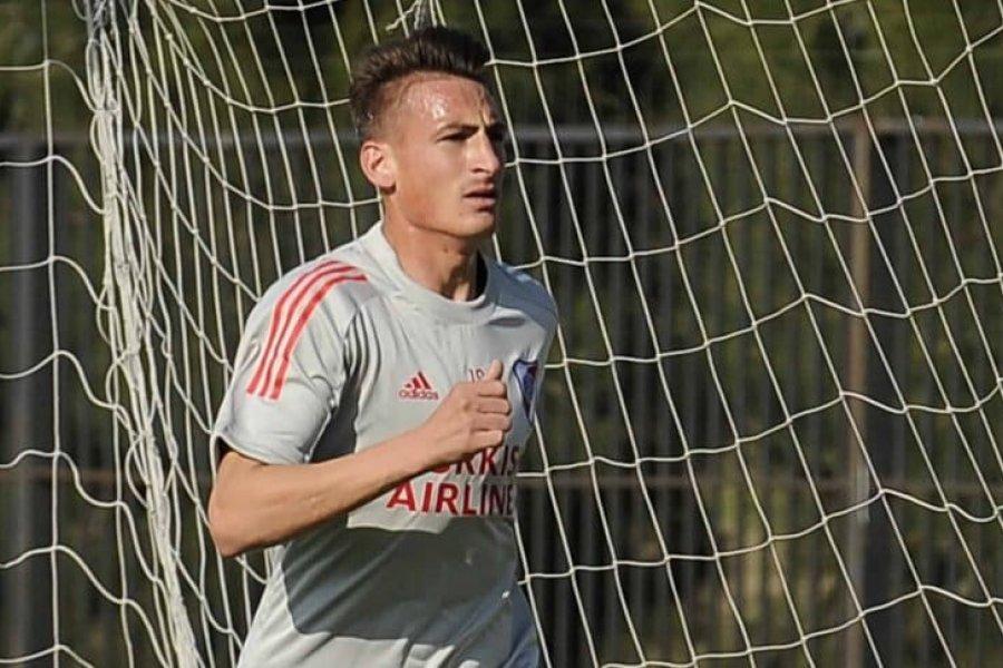Braian Romero realizó su primer entrenamiento en River