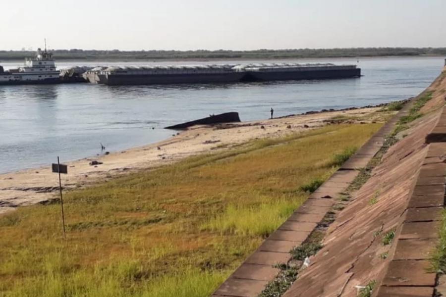 Bajante del Paraná: Las condiciones de navegación generan pérdidas económicas