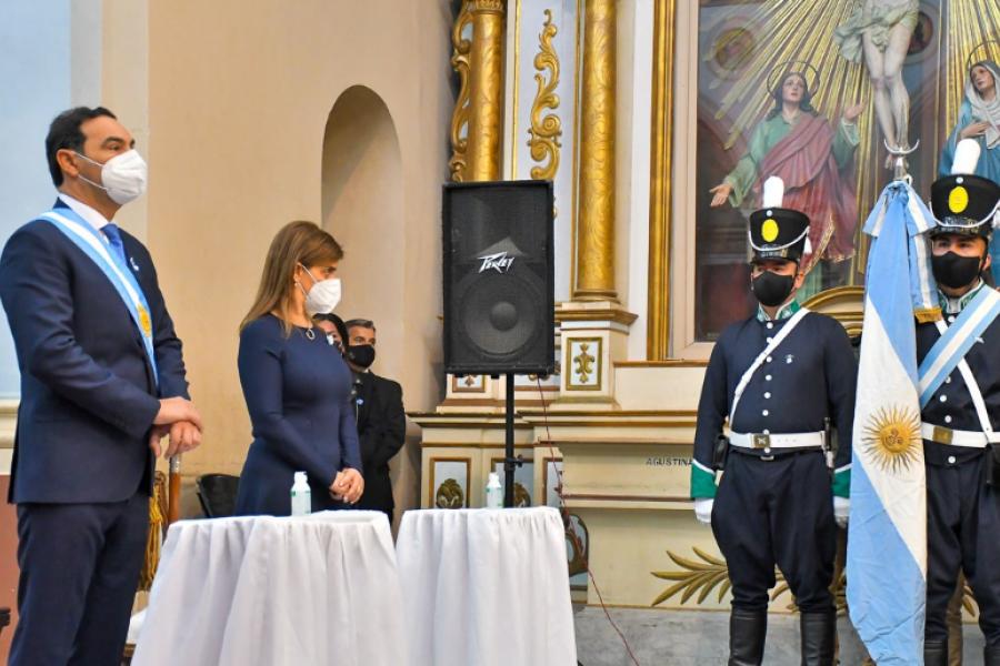 Valdés abogó avanzar hacia una patria libre al conmemorar la Independencia Nacional