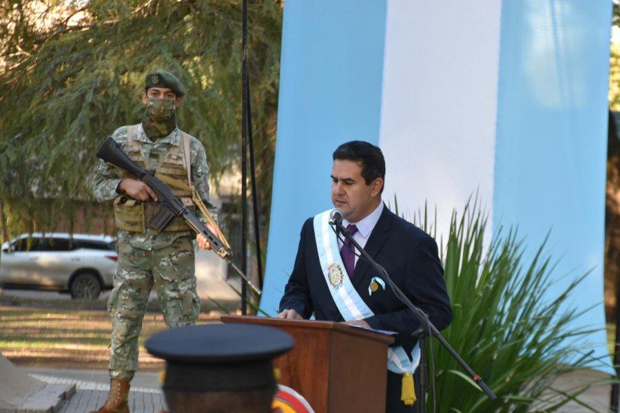 Curuzú conmemoró los 205 años de la Independencia de nuestro país