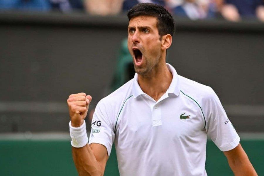 Djokovic es finalista en Wimbledon y va por su vigésimo Grand Slam