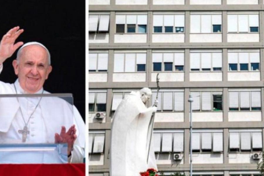 El Papa expresó su cercanía a los que sufren mientras continúa su recuperación