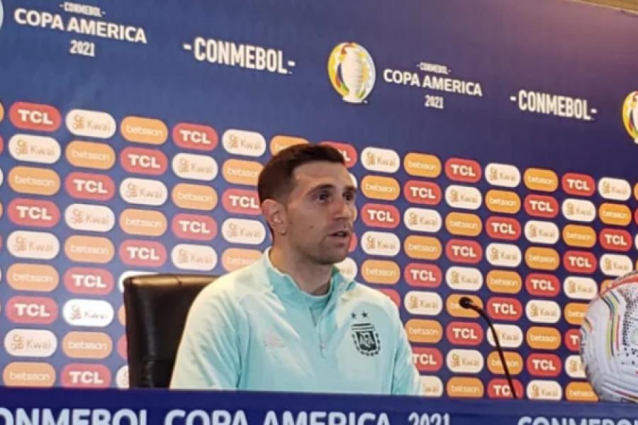 Para Martínez es un sueño jugar la final contra Brasil