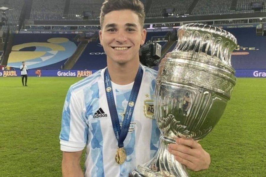Julián Álvarez, en el radar de Milan