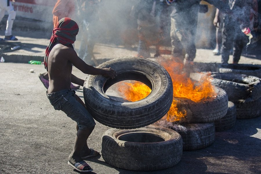 """Advierten que """"Haití está a escasos metros de una situación como la de Ruanda"""""""