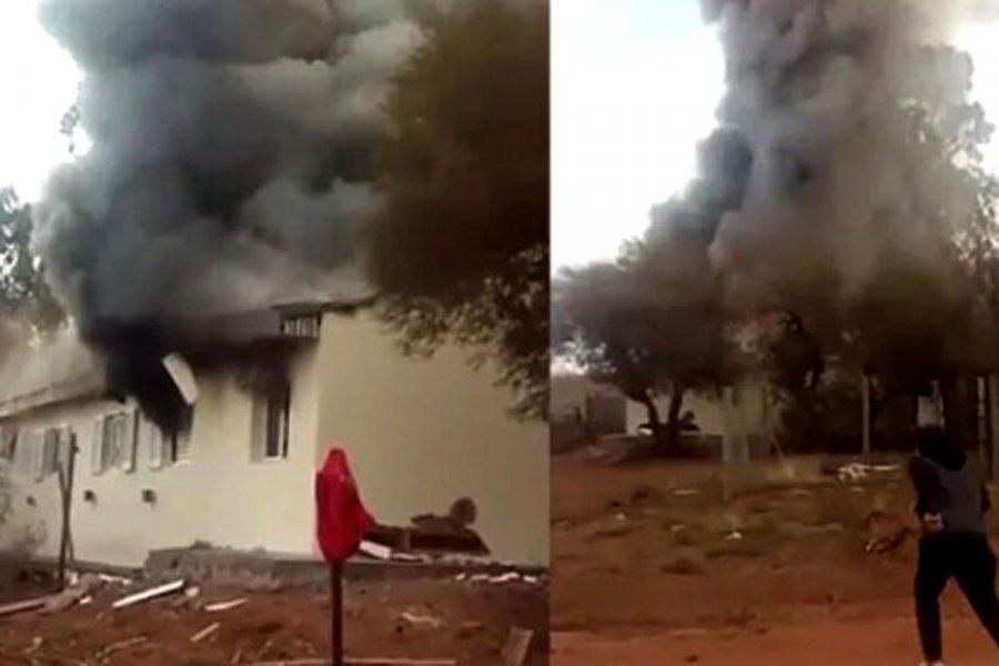 Murió la docente que había sufrido graves heridas en la explosión en una escuela