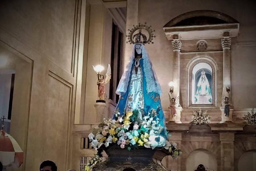 Con la visita de la Virgen de Itatí, San Luis rememorará su centenaria peregrinación