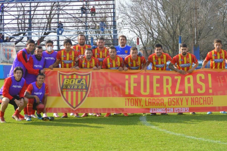 Boca Unidos: La 12ª dejó un valioso punto y variantes en el equipo