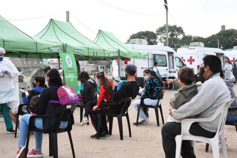 Amplio operativo de salud en el barrio Quilmes de Capital