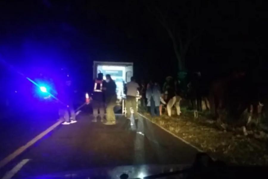 Niño a caballo fue embestido por una camioneta en Ruta 5
