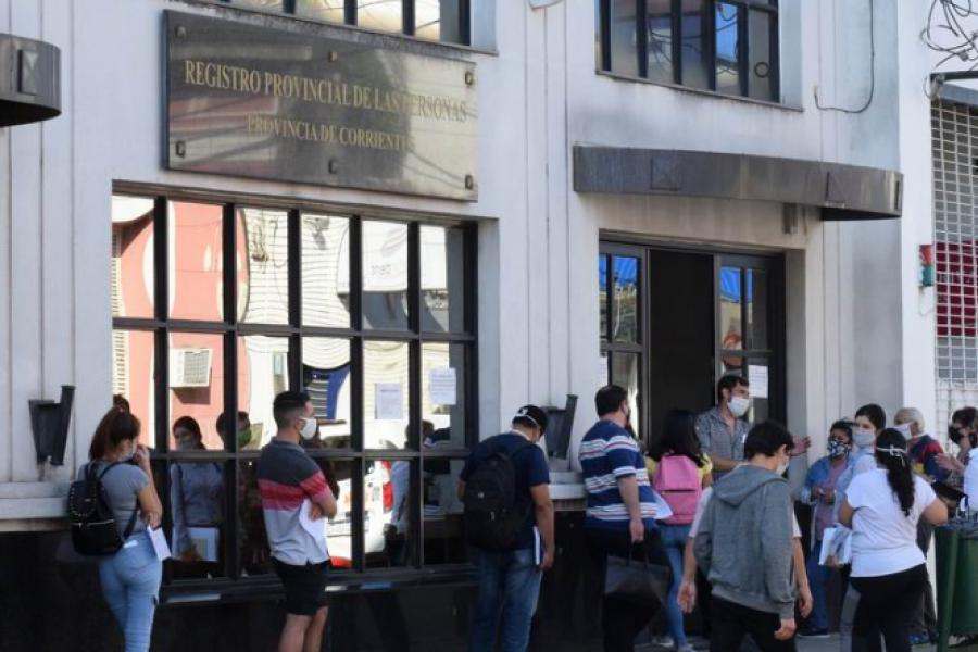 Suspendidos: Hace semanas no hay casamientos por Civil