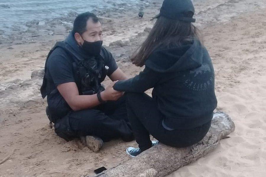Corrientes: Joven quiso suicidarse en el río Paraná