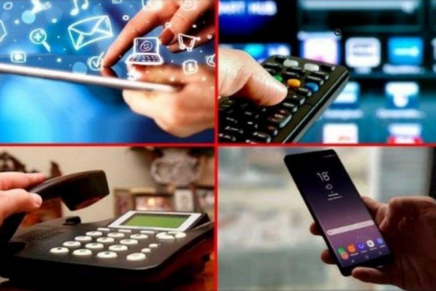 Autorizaron aumentos en los precios de internet, telefonía y cable