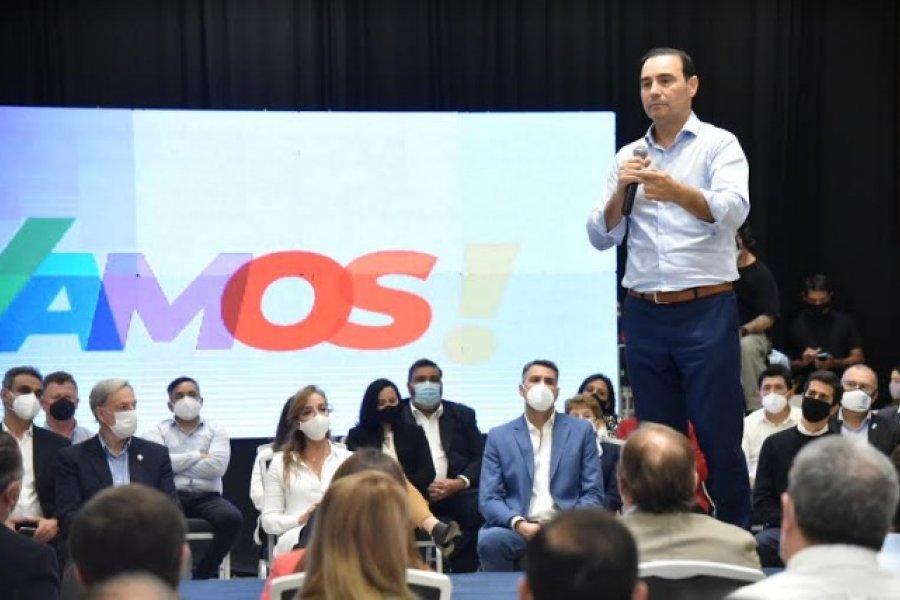 Valdés llega a un distrito donde la UCR va dividida a las urnas