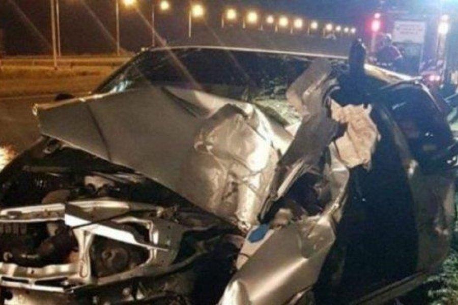 Un prefecturiano correntino murió tras un accidente en Ruta 14