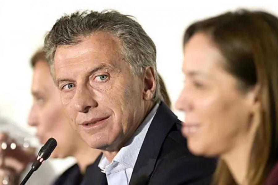 En medio de la denuncia de Bolivia, Macri afirmó que la decisión de Vidal fue traumática