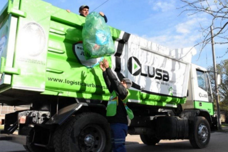 Feriado: Habrá recolección de residuos normal el viernes 16