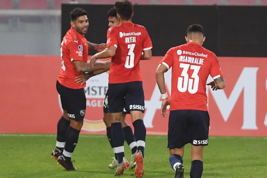 Independiente y una riesgosa visita a Santos por los octavos de final