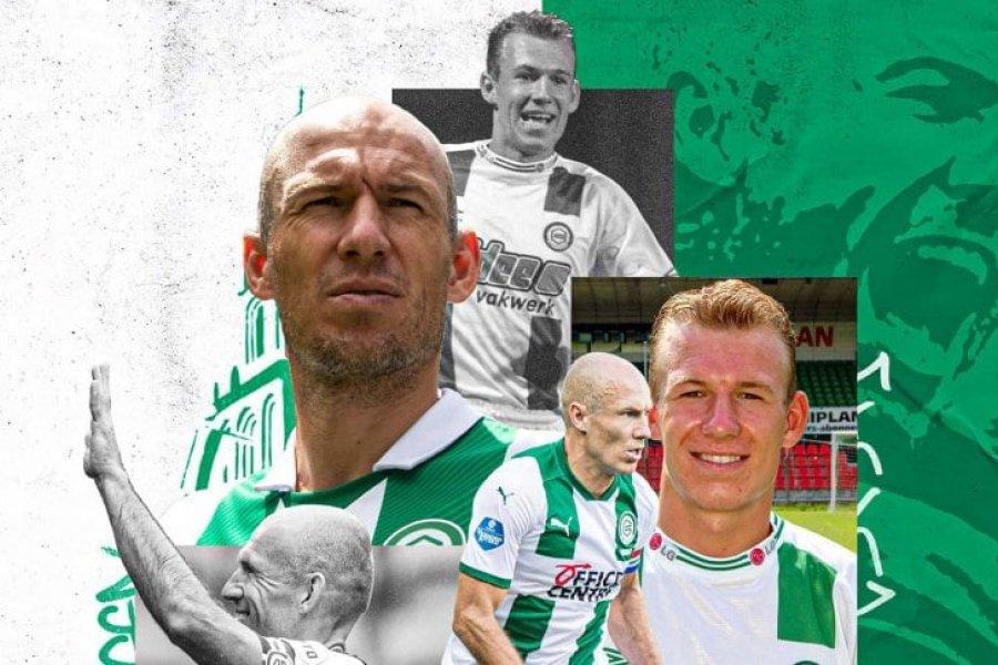 Arjen Robben anunció su retiro definitivo