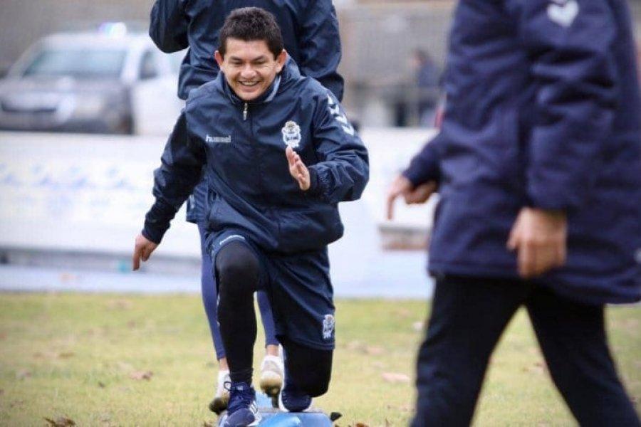 Se lesionó el Pulga Rodríguez y no jugará en el debut de Gimnasia ante Platense
