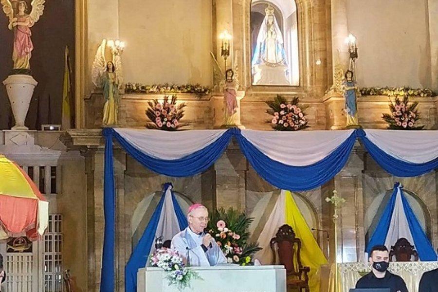 En el Día de la Coronación, Stanovnik renovó la Consagración a María de Itatí
