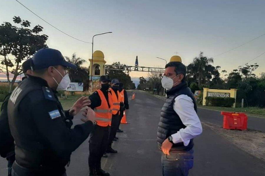 Fuerte operativo de seguridad en el acceso a Itatí: Prohíben ingreso a turistas