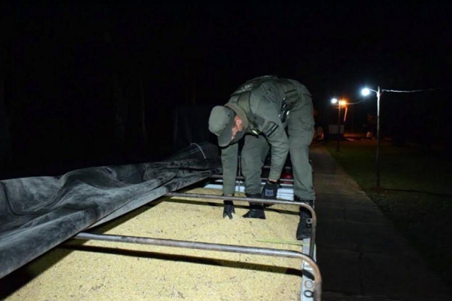 Corrientes: Trasladaban 57 toneladas de soja en camiones de manera irregular