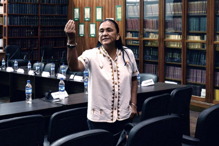 Piden elevar a juicio una causa contra Milagro Sala por el robo de un expediente