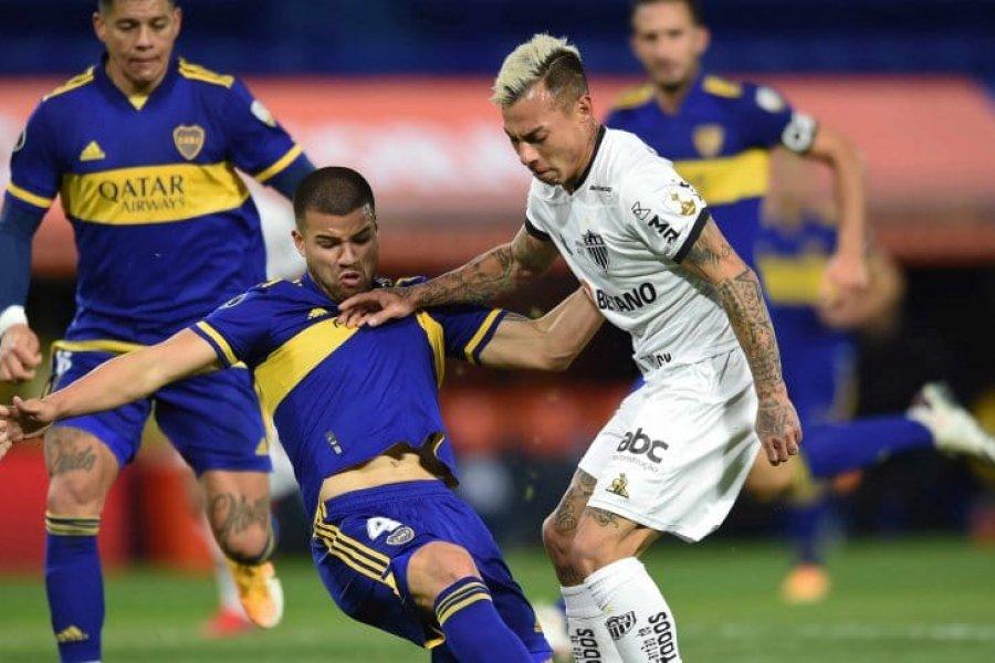 Vargas dio positivo por Covid-19 en Atlético Mineiro y no estará ante Boca