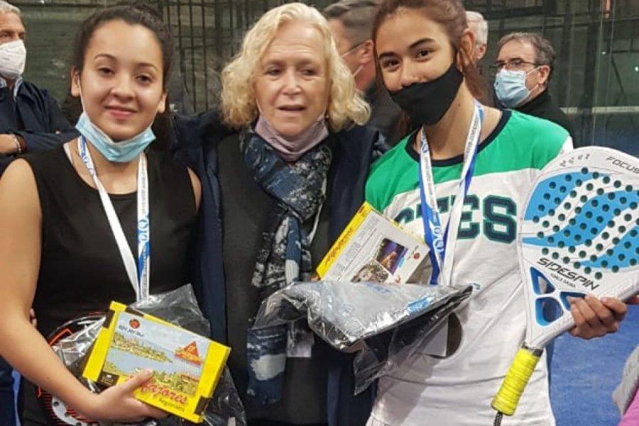 Eunice Gauna, la correntina que se prepara para participar el mundial de Pádel