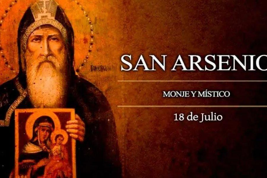 La Iglesia Católica celebra a San Arsenio, famoso monje y místico