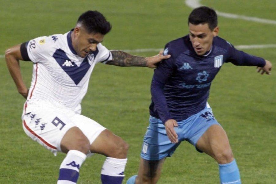 Vélez y Racing debutaron con un empate sin goles en la Liga Profesional