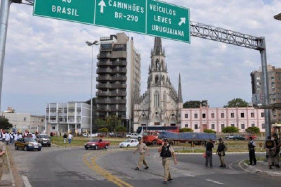Detuvieron a un hombre que intentaba traer a sus hijos de Brasil hacia Corrientes