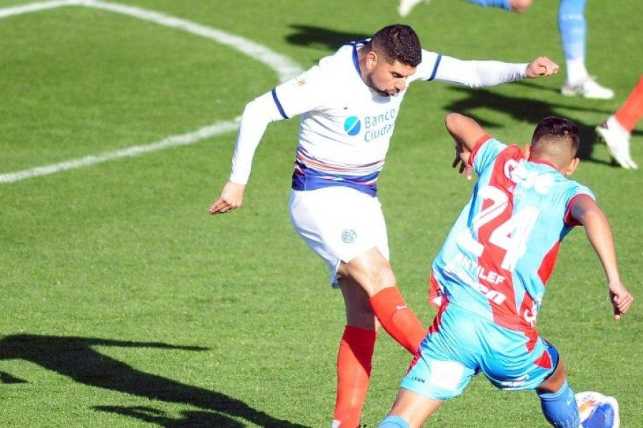 San Lorenzo no aguantó la ventaja e igualó con Arsenal en el arranque de la Liga Profesional