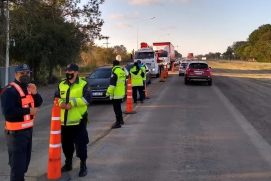 Plan Federal de Alcoholemia: la Policía secuestró cinco autos en Corrientes