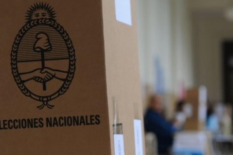 Se realizó un simulacro del escrutinio provisorio, de la cara a las elecciones