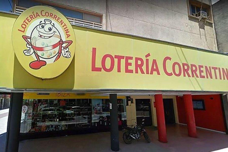 Lotería Correntina y una millonaria transferencia al Instituto de Cultura