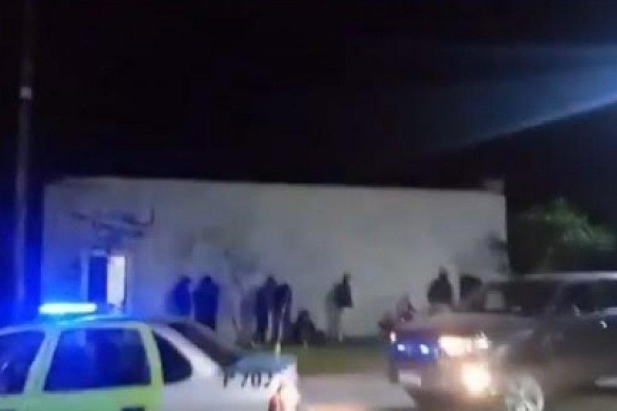 Goya: Desactivan fiesta nocturna en las primeras horas del día del amigo