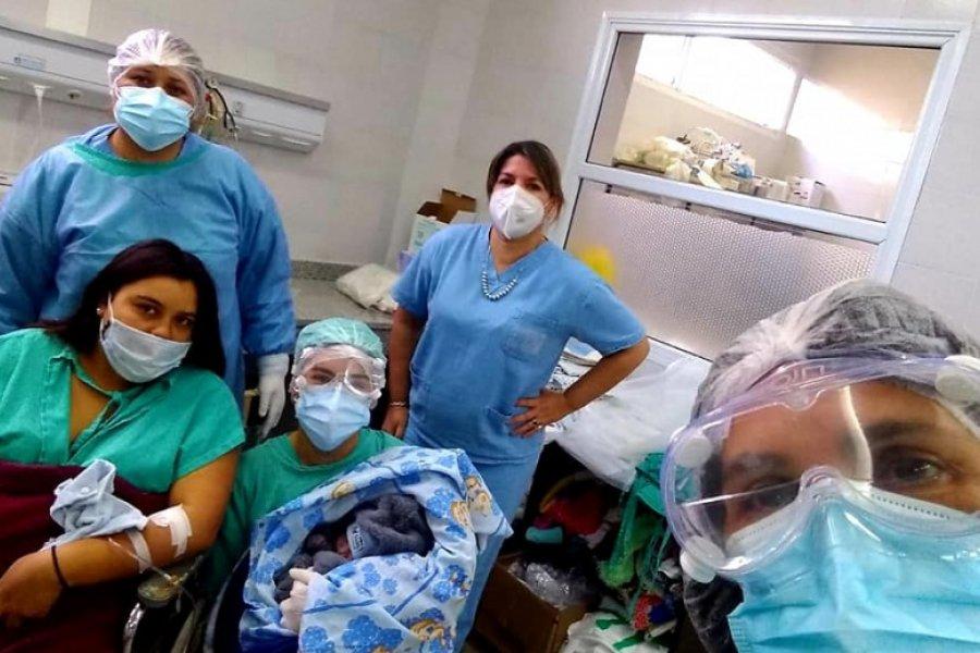 Bella Vista: Se realizó un parto a una mujer con covid positivo