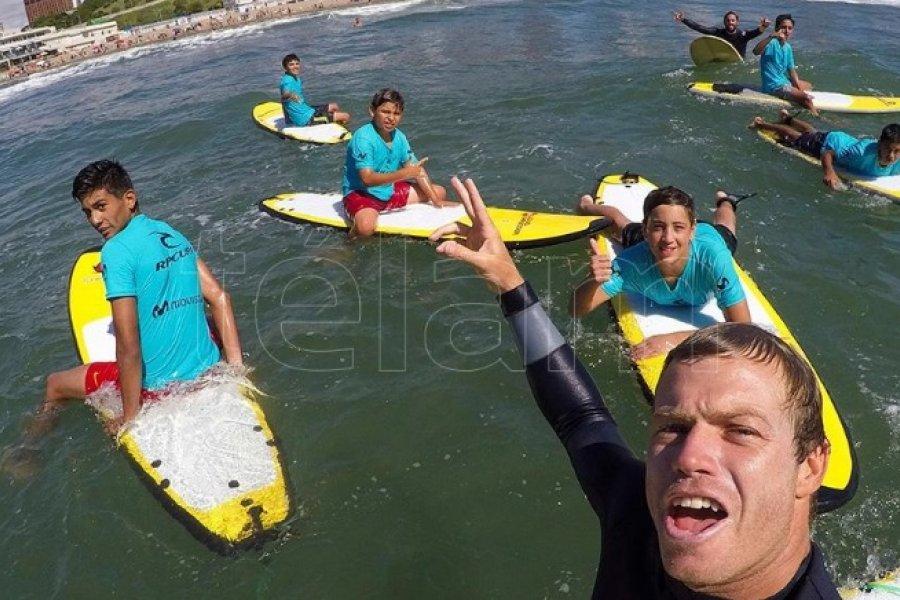 Usuna pone en marcha en Tokio la cuenta regresiva para la aventura olímpica del surf