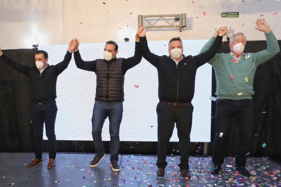 Valdés presentó a sus candidatos en Monte Caseros, Juan Carlos Álvarez va por la intendencia