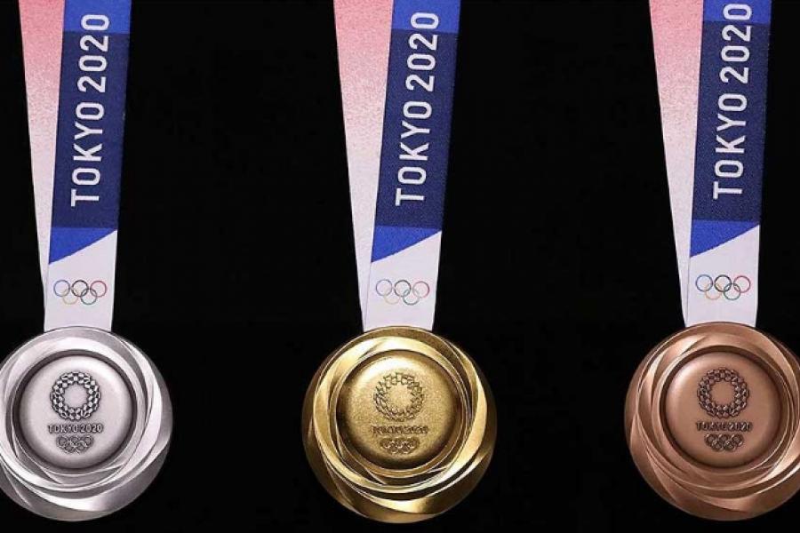 Tokio: Las medallas están hechas de material reciclado