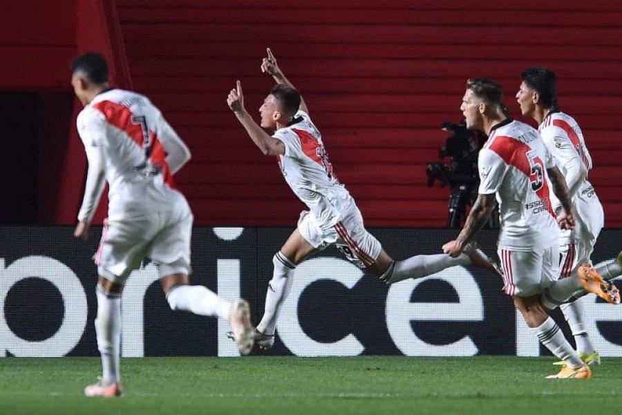 River venció a Argentinos y se metió en los cuartos de final