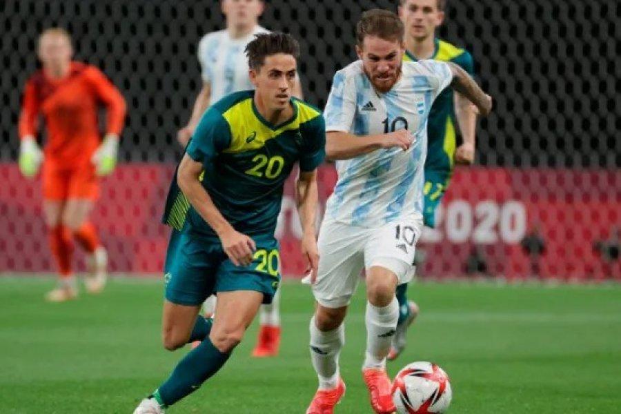 Argentina perdió ante Australia en su debut en Tokio 2020