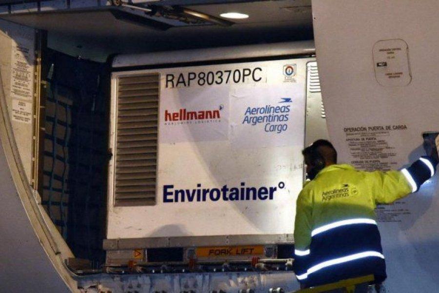 Llegó el décimo cargamento de Sinopharm y Argentina superó las 40 millones de vacunas